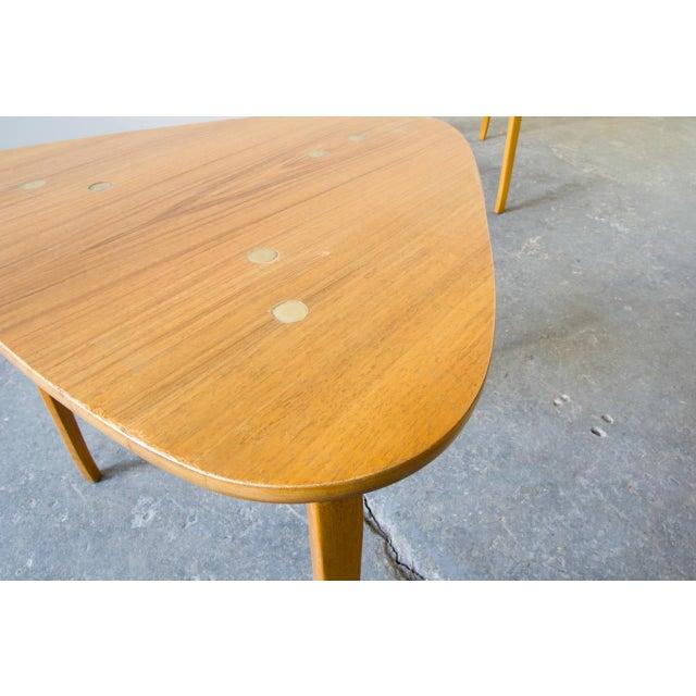 Mid-Century Modern Pair of Yngve Ekström for Dux Nesting Tables For Sale - Image 3 of 5