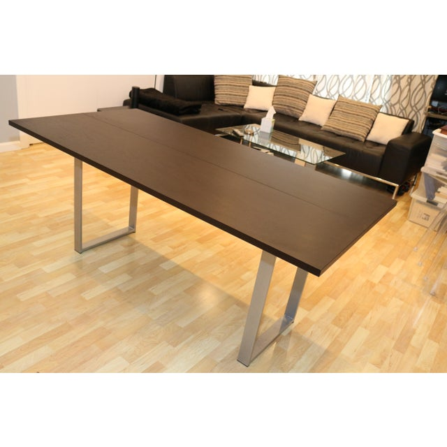 Design Within Reach Lance Folding Dining Table Chairish