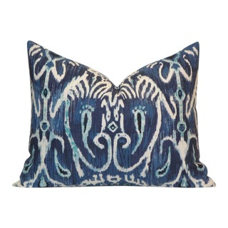 Ikat Bolster Accent Pillow