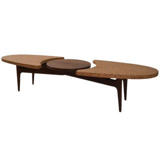 Harvey Probber Terrazzo Top Coffee Table For Sale