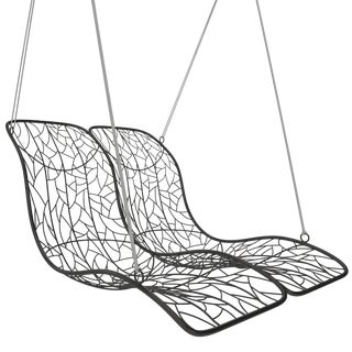 Double Recliner Hanging Chair For Sale