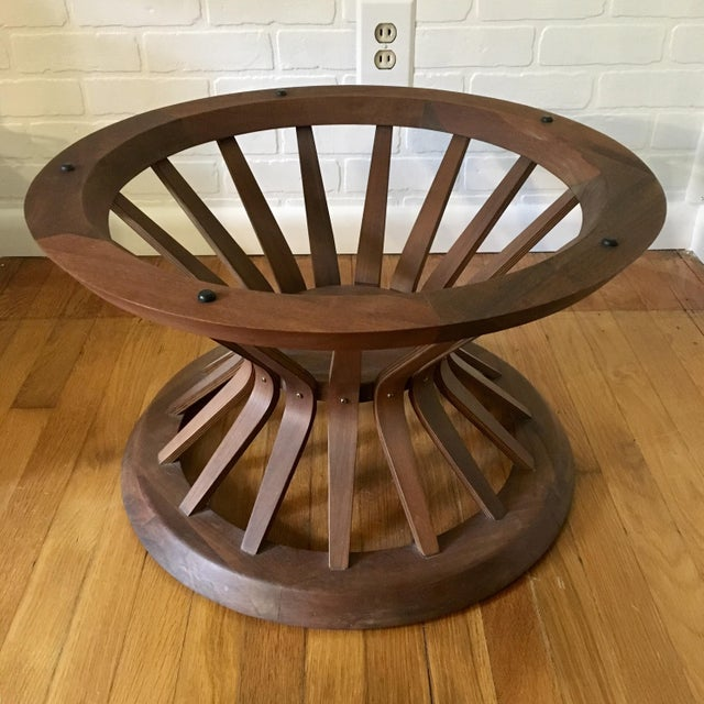 Edward Wormley Style Sheaf of Wheat Coffee Table For Sale - Image 10 of 12