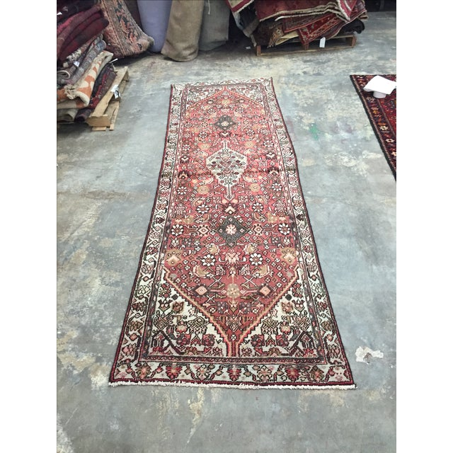 Hamadan Persian Rug - 2′11″ × 9′5″ - Image 2 of 8