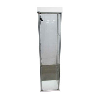 Modern Illuminated Standing Showcase For Sale