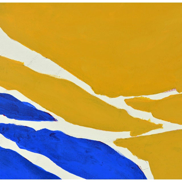 """""""December"""" Contemporary Abstract Painting - Image 3 of 11"""