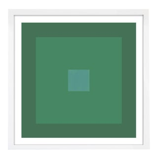 """Color Study #22"" Unframed Geometric Print For Sale"