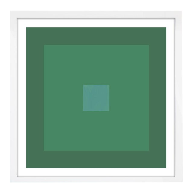 """""""Color Study #22"""" Unframed Geometric Print For Sale"""