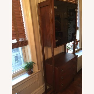 1960's Mid Century Wood Bar Cabinet Preview