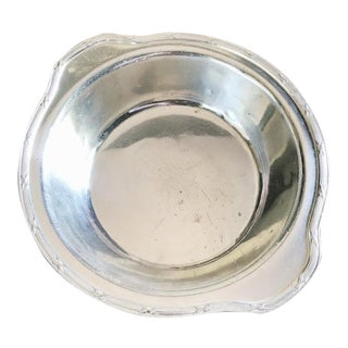 Large 1927 Silver Plated Serving Bowl From Savoy Plaza Hotel NYC For Sale
