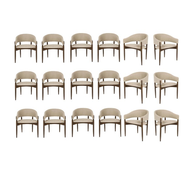 Set of 18 Enroth Dining Chairs For Sale In New York - Image 6 of 6