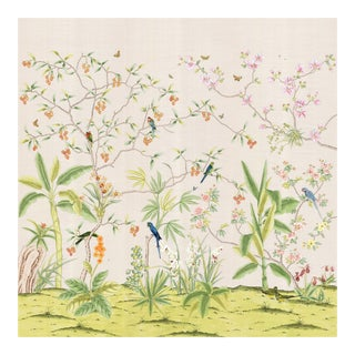 "Casa Cosima Palisades Wallpaper Set - 3 Panels 108""x108"" For Sale"