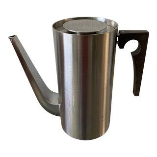 Arne Jacobsen Cylinda Lidded Coffee Pot For Sale