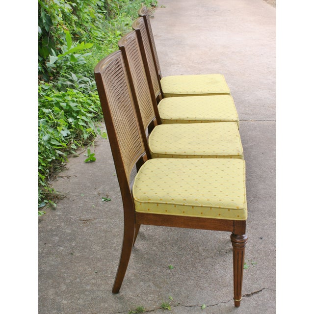 Hickory Directoire Style Dining Chairs - Set of 4 - Image 7 of 10