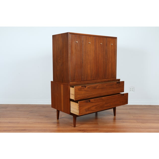 Highboy Dresser by American of Martinsville - Image 9 of 9