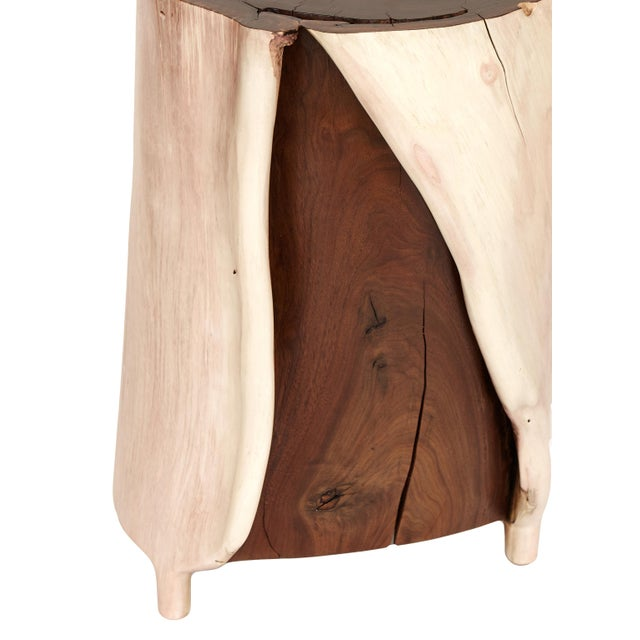 Contemporary Split Walnut by Caleb Woodard For Sale - Image 3 of 7
