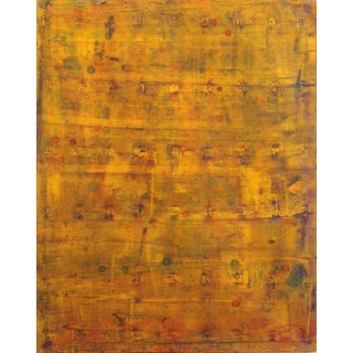 """Bernhard Zimmer """"Ahw 191"""" Original Layered Oil Painting on Canvas For Sale"""