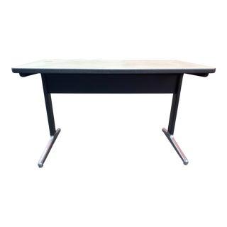 1970s Herman Miller George Nelson Aluminum Work Group Desk For Sale