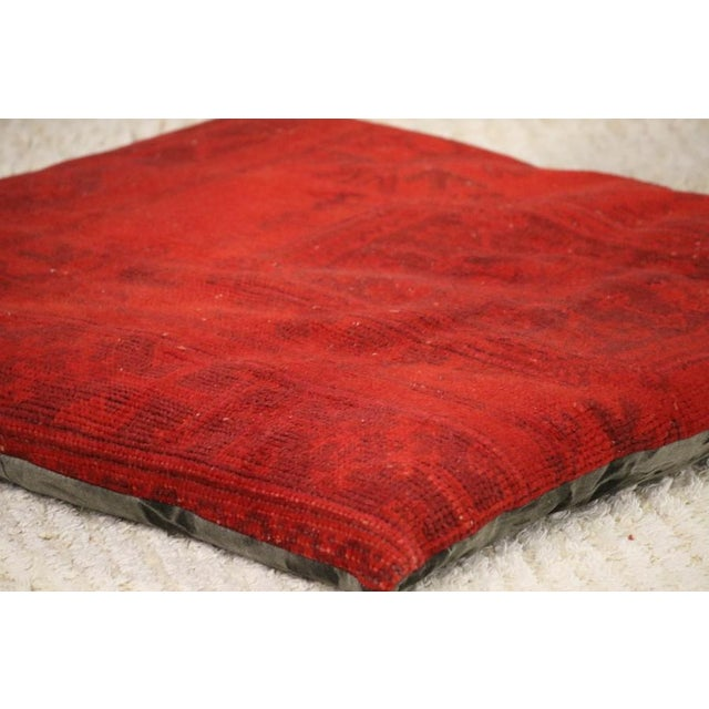 Contemporary Luxury Rug Floor Pillow For Sale - Image 3 of 4