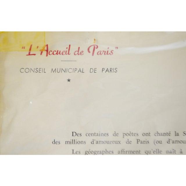 French La Seine au Travail Framed Etching - Image 6 of 9