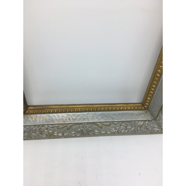 Boho Chic Two Tone Vintage Frame For Sale - Image 3 of 6
