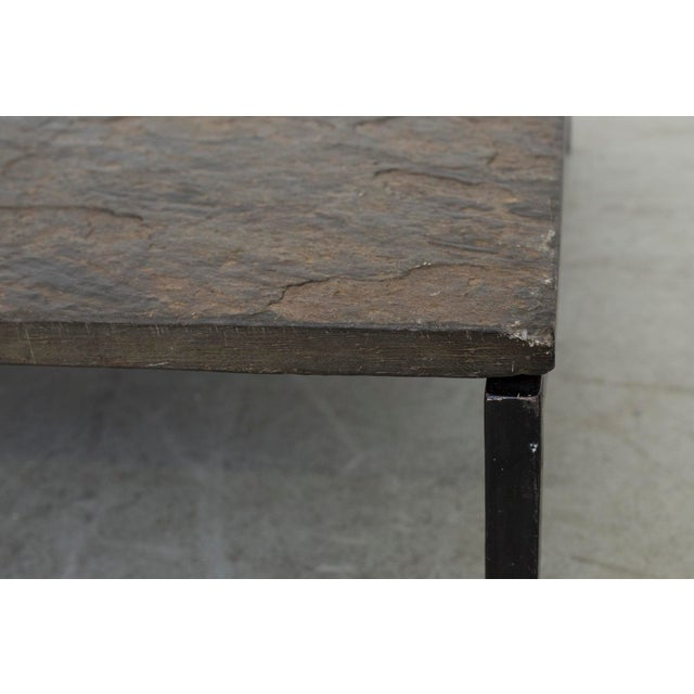 Square Stone Top Coffee Table - Image 5 of 9