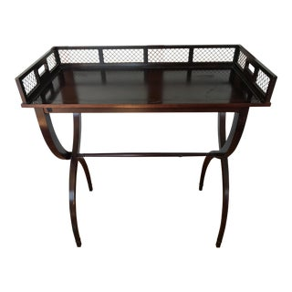Hollywood Regency Barbara Barry Drinks Tray Table For Sale