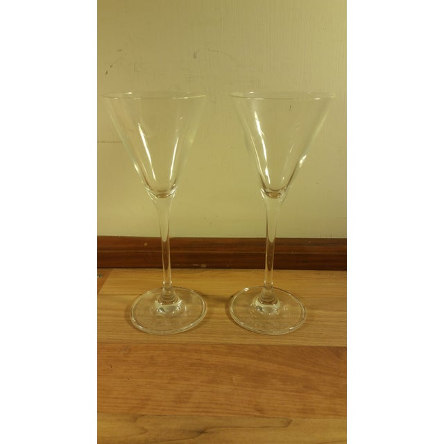 Grey Goose Martini Cocktail Glasses - A Pair - Image 2 of 5