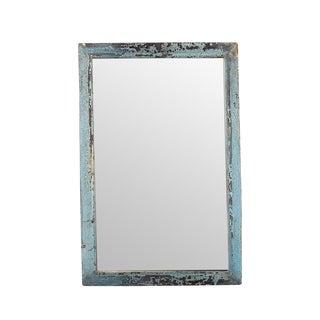 Vintage Teak Moulding Mirror