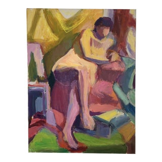 Barbara Yeterian Oil on Canvas Y119 For Sale
