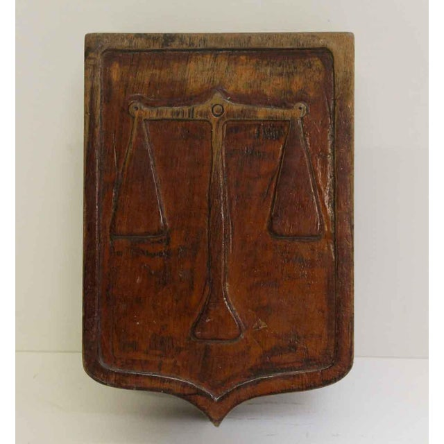 Pair of Wooden Imported Double Door Pulls For Sale In New York - Image 6 of 7