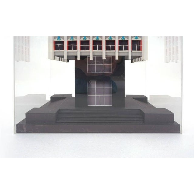 Irving Harper Architectural Sculpture from His Paper Sculpture Series For Sale In Kansas City - Image 6 of 9