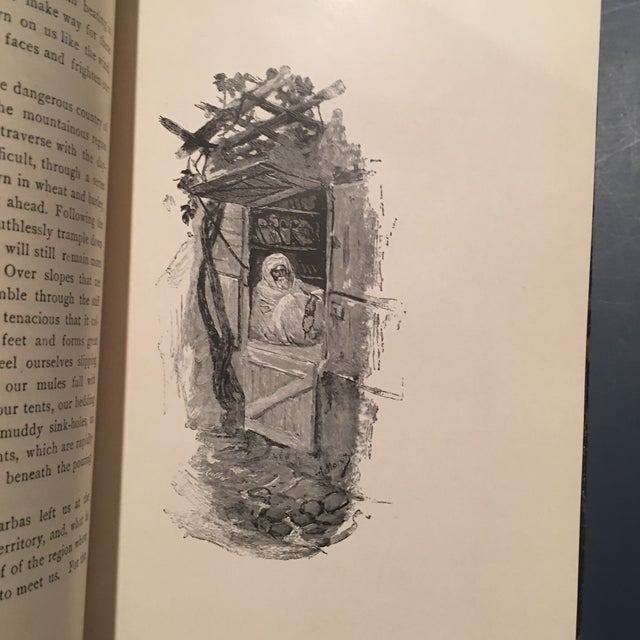 """1892 Leather """"Into Morocco"""" 1st Edition Book - Image 8 of 10"""
