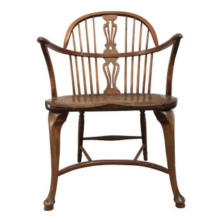 1920s Vintage Farm House Windsor Chair For Sale