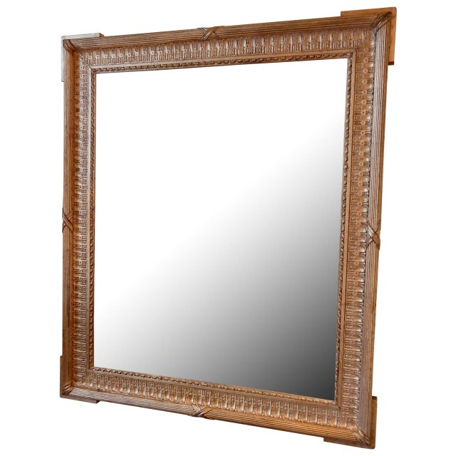 Gold 19th Century French Gold Gilt Mirror For Sale - Image 8 of 8
