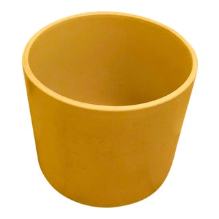 Gainey Ceramics Oatmeal Cylindrical Planter -Ac-10 For Sale