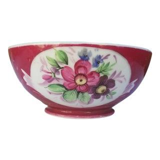 Victorian Russian Imperial Gardner Porcelain Bowl For Sale