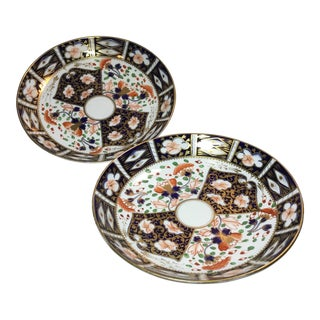 Bloor Derby Witches Platters - a Pair For Sale