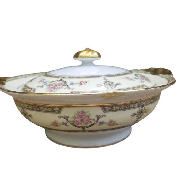 1910s Limoges Uc Lidded Serving Bowl For Sale
