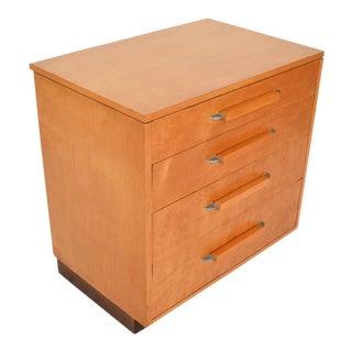 Eliel Saarinen Short Blonde Birch Dresser For Sale