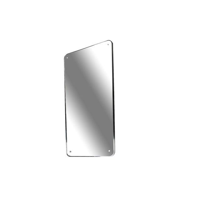 Mid-Century Modern Mid-Century Modern Streamline Mirror For Sale - Image 3 of 8