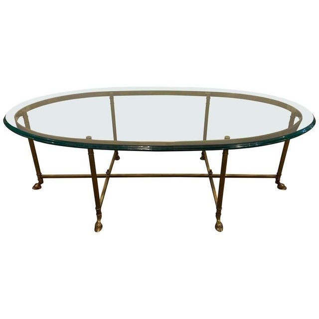 French Hoof Foot Jansen Style Coffee/Low Table For Sale - Image 10 of 10
