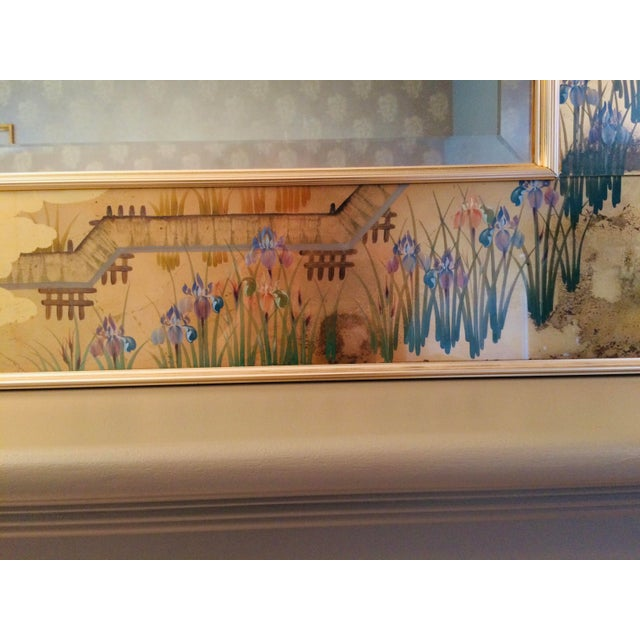 Gold 1980s La Barge Chinoiserie Mirror For Sale - Image 8 of 13