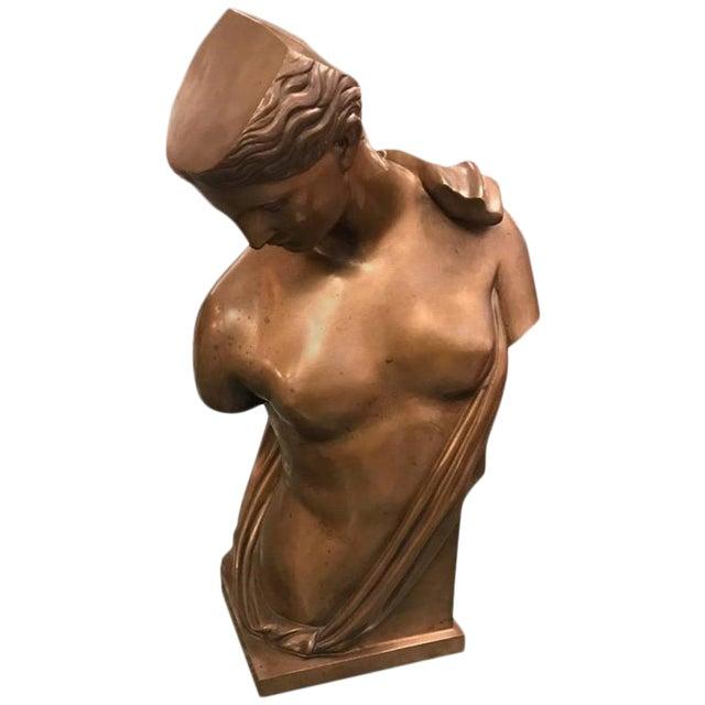 Roman Style Continental Bronze Sculpture For Sale