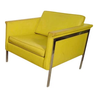 Large Mid-Century Arm Chair For Sale