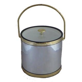 Vintage Mid-Century Brass Ice Bucket