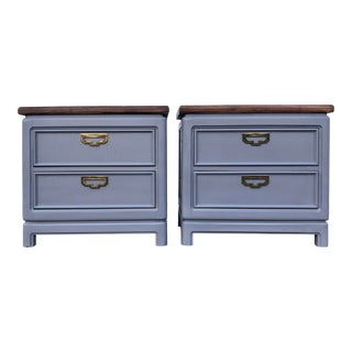 Thomasville Mystique Nightstands - a Pair For Sale