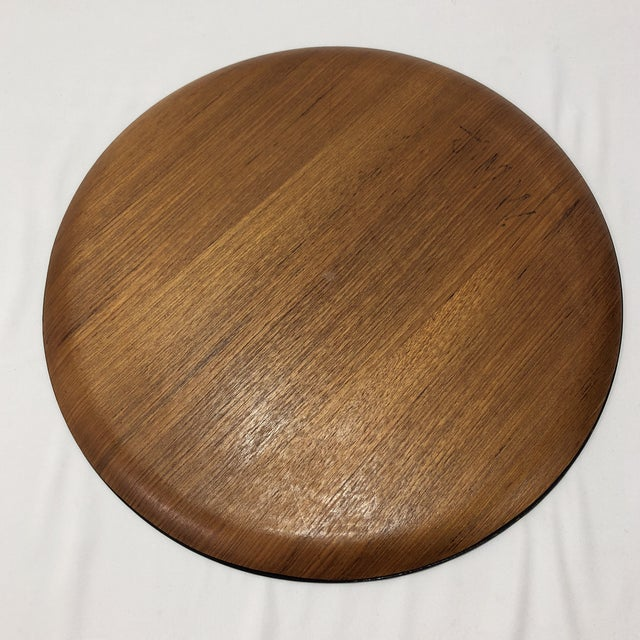 Brown Mid-Century Herman Miller Walnut Tray For Sale - Image 8 of 9