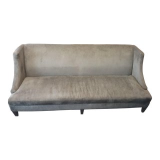 Lee Industries Custom Made Upholstered Feather Cushioned Sofa For Sale