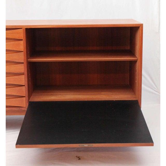 Black Arne Vodder Sideboard For Sale - Image 8 of 10