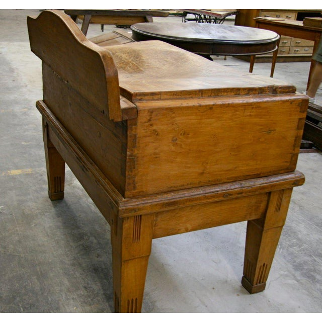 Early 20th Century Italian 19th C. Butcher Block For Sale - Image 5 of 8